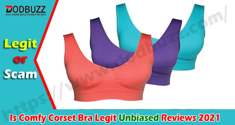 Is Comfy Corset Bra Legit {Oct} Read The Review Today!