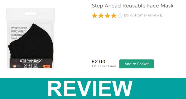 Step Ahead Reusable Face Mask Review 2020