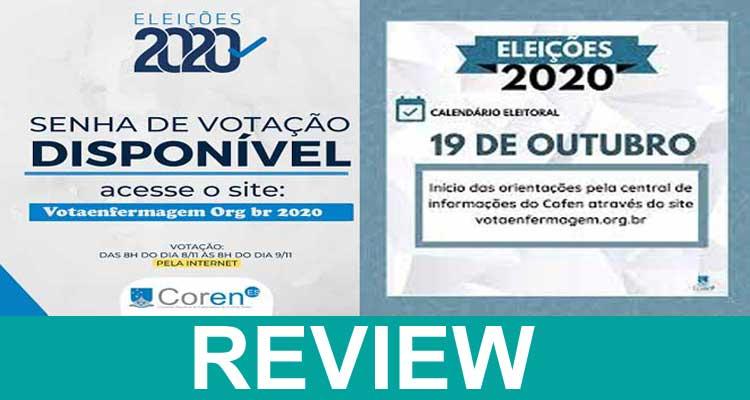 Votaenfermagem Org Br 2020.