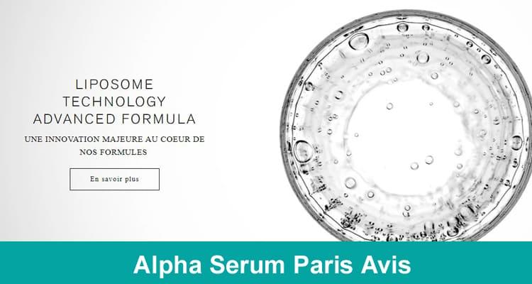 Alpha Serum Paris Avis 2020