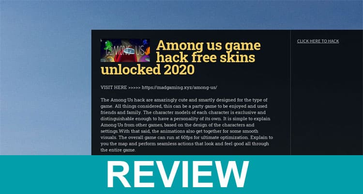 Among Skins Xyz 2020