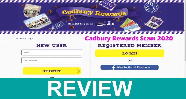 Cadbury Rewards Scam 2020