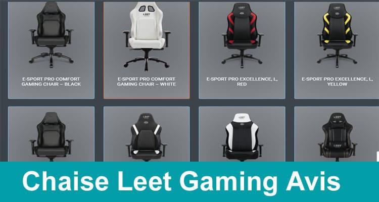 Chaise Leet Gaming Avis 2020