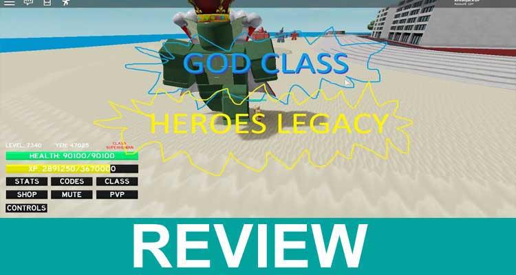 Codes for Heroes Legacy in November 2020