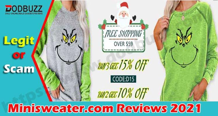 Minisweater.com Reviews {Nov} Is It Legit Or Fake Site