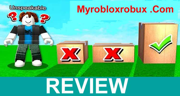 Myrobloxrobux .Com 2020.