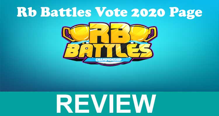 Rb Battles Vote 2020 Page 2020