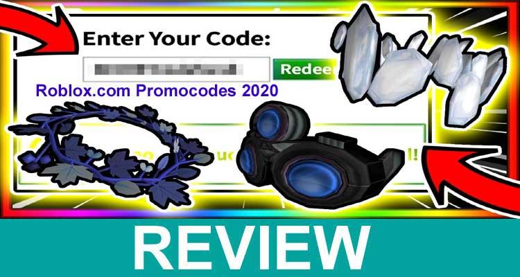 Roblox.com Promocodes 2020