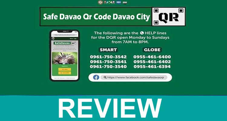 Safe Davao Qr Code Davao City 2020.