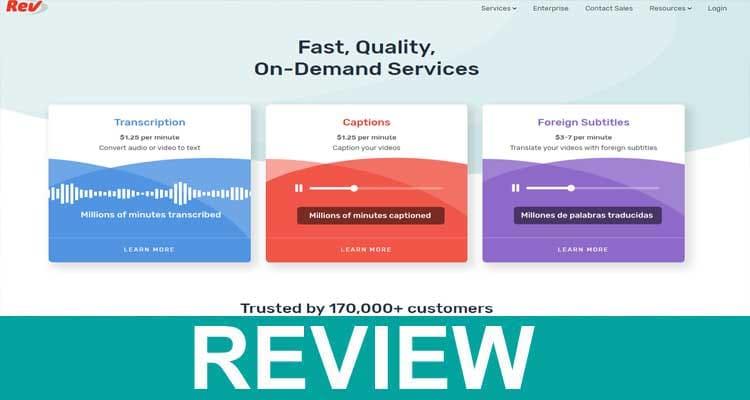 rev.com Reviews 2020