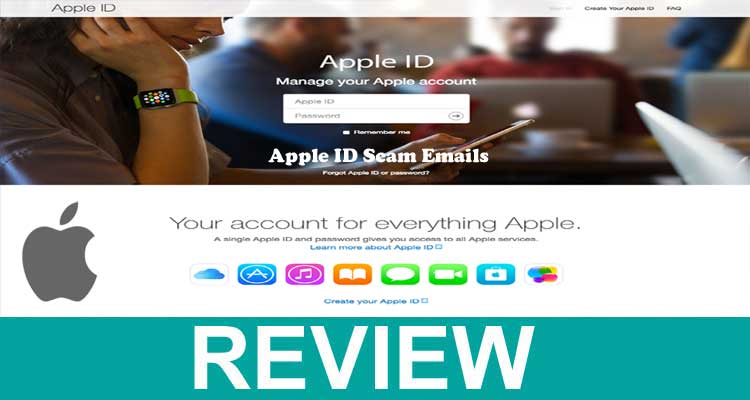 Apple ID Scam Emails 2020.