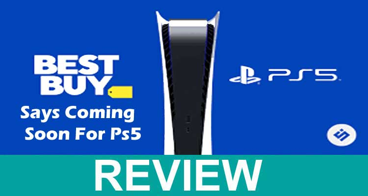 Best Buy Says Coming Soon for ps5 2020