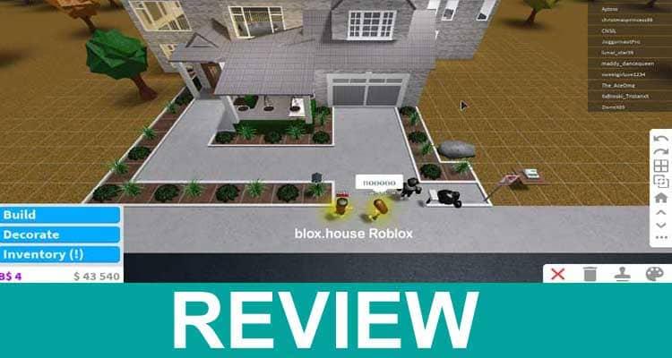 Blox House Roblox 2020.