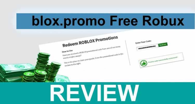 Blox.promo Free Robux 2020.