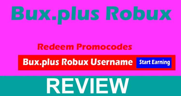 Bux.plus Robux 2020