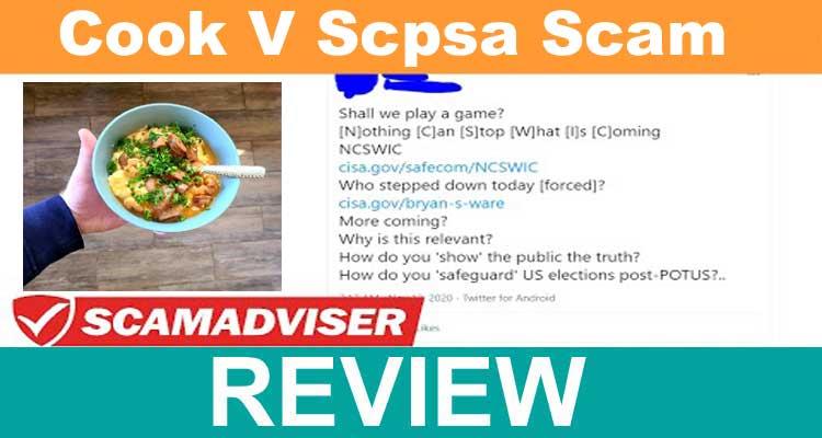 Cook V Scpsa Scam 2020