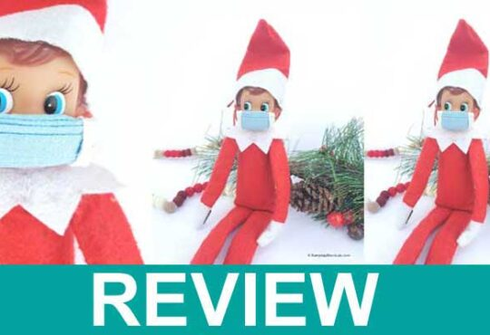 Elf on Shelf Mask DIY 2020