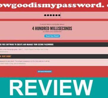 Howgoodismypassword. com 2020