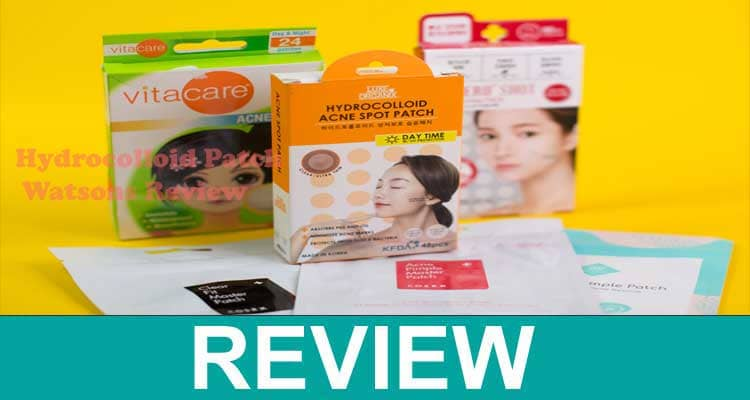 Hydrocolloid Patch Watsons Review 2020.