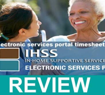Ihss Com Electronic Services Portal Timesheet Login 2020