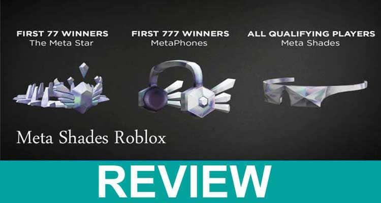 Meta Shades Roblox 2020
