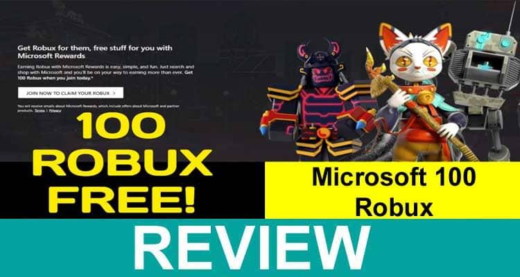 Microsoft 100 Robux 2020.
