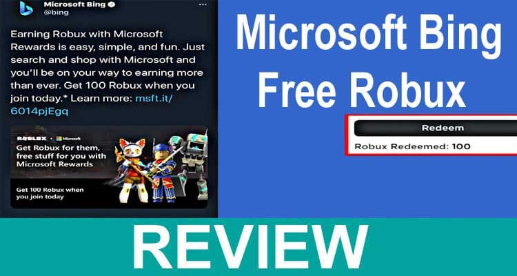Microsoft Bing Free Robux 2020.