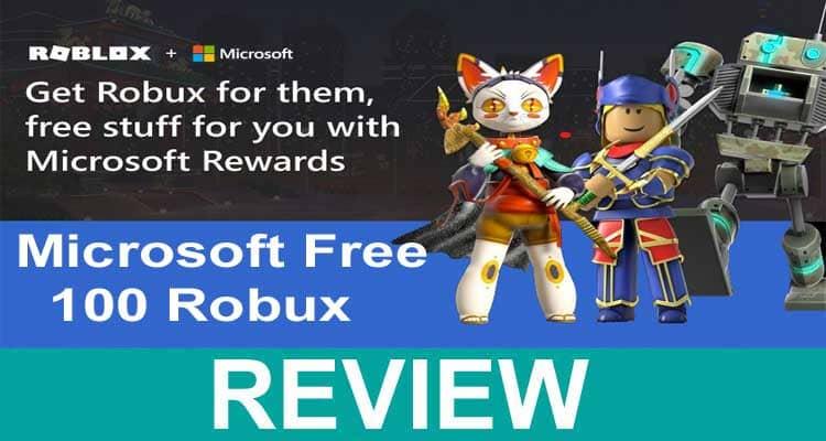Microsoft Free 100 Robux 2020.