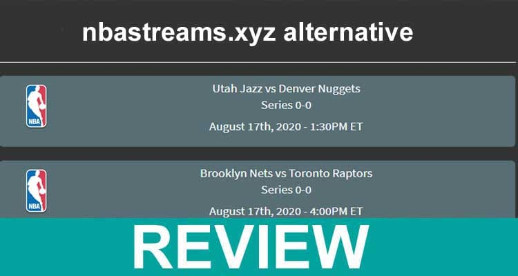 Nbastreams.xyz Alternative 2020.