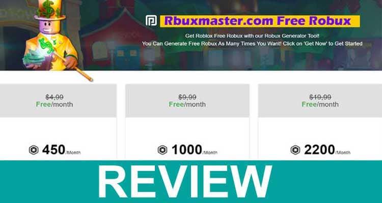 Rbuxmaster.com Free Robux 2020.