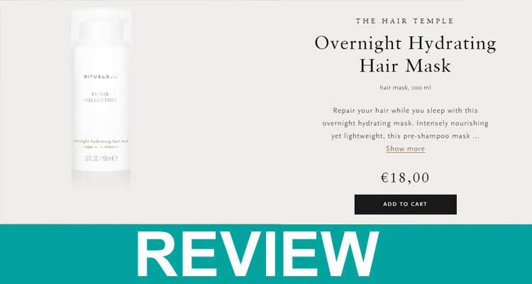 Rituals Overnight Hair Mask Reviews 2020