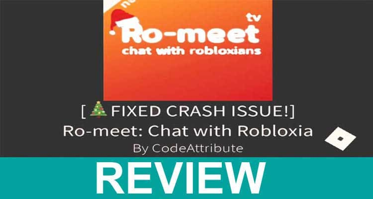 Ro-Meet Chat With Robloxians 2020.