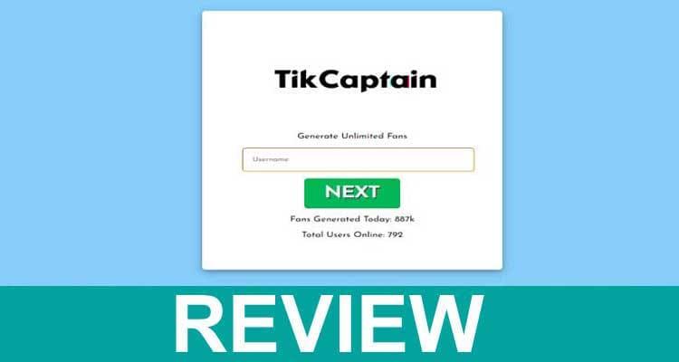 Tikcaptain. com 2020.