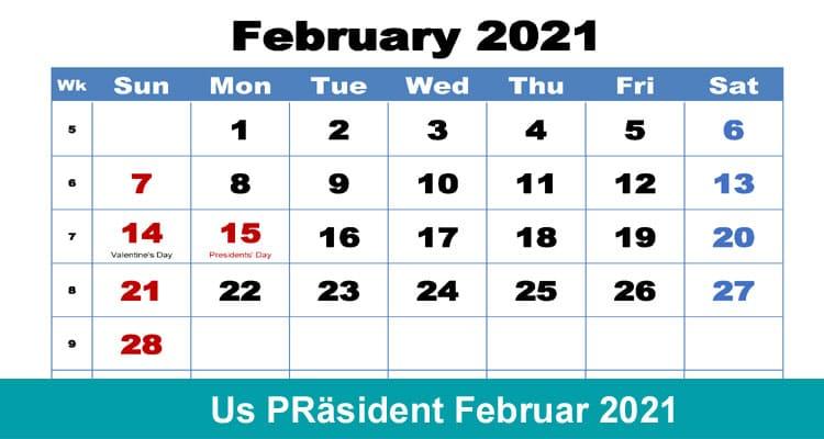 Us PRäsident Februar 2021 Dodbuzz