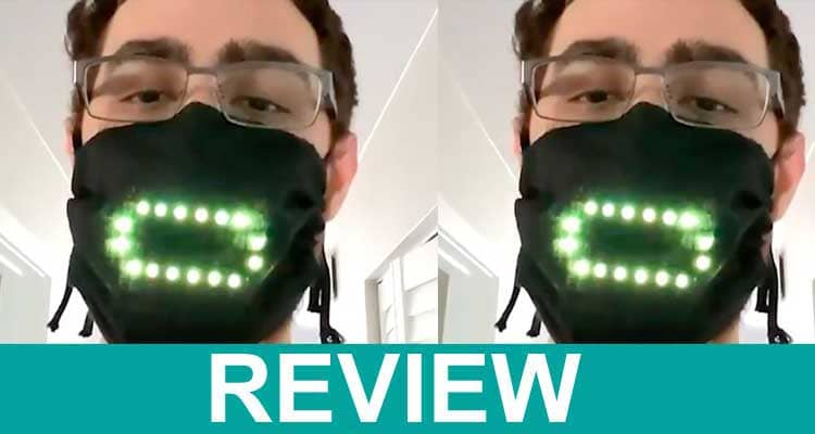 Voice Activated Led Face Mask 202.