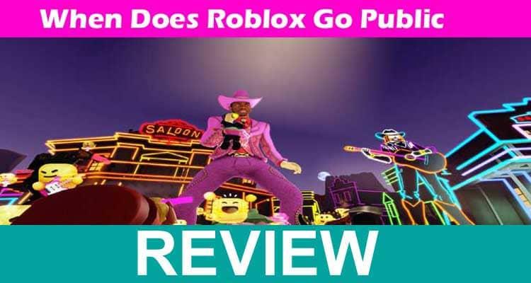 When Does Roblox Go Public 2020