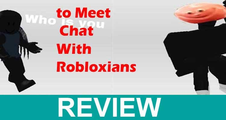 to Meet Chat With Robloxians 2020..