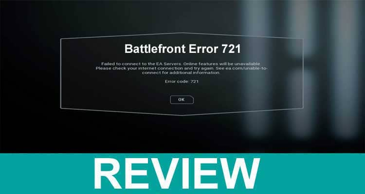 Battlefront Error 721 2021.