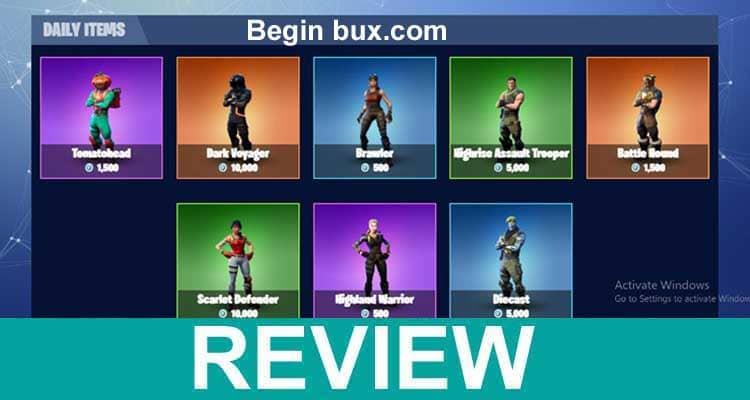 Begin Bux.com 2021.
