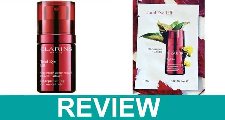 Clarins Total Eye Lift Review 2021.