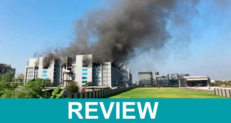 Fire At Vaccine Factory 2021