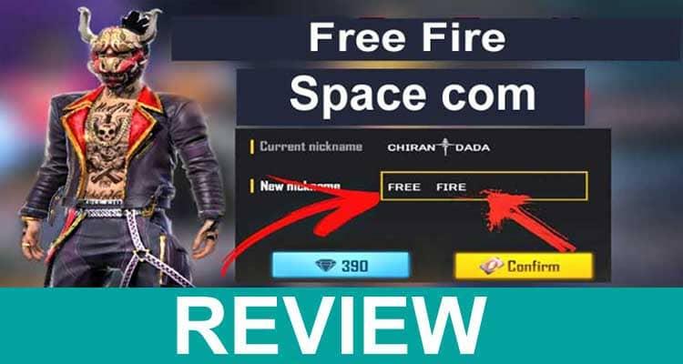 Free Fire Space com 2021.