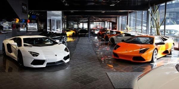 Manufacturing of Lamborghini Tractors