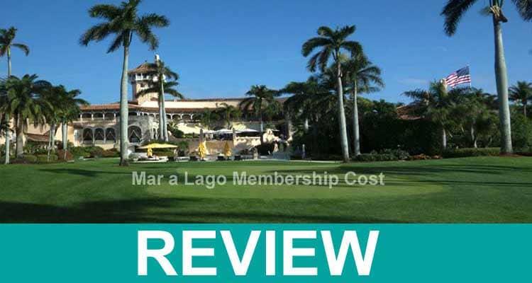 Mar a Lago Membership Cost 2021.