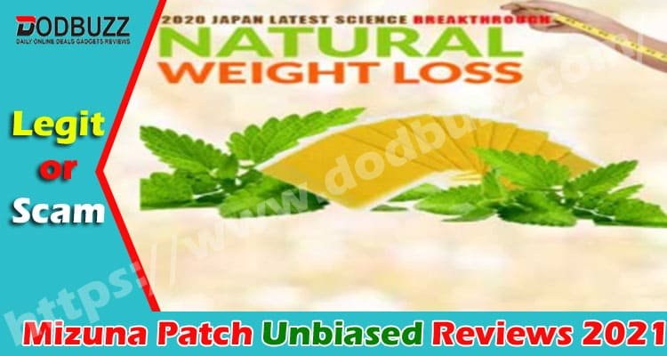 Mizuna Patch Reviews {Jan 2021} Is It Safe To Buy & Use