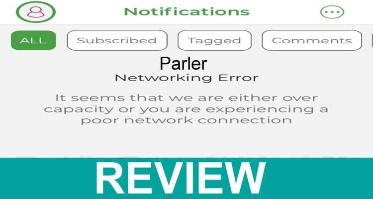 Parler Networking Error 2021