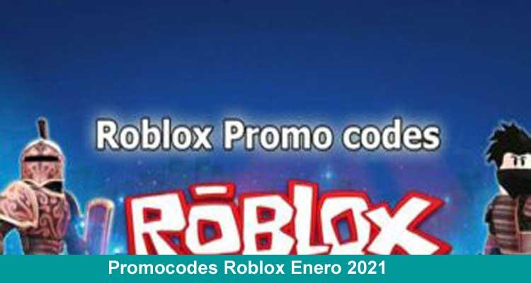 Promocodes Roblox Enero 2021