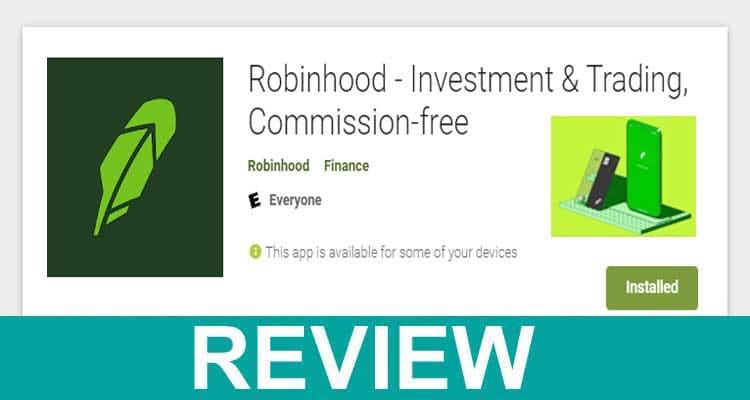 Robinhood App Store Rating 2021.