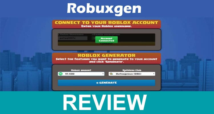 Robuxgen. Us 2021
