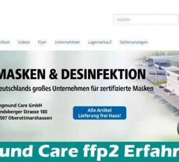 Siegmund Care ffp2 Erfahrungen 2021